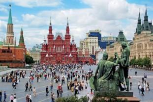 St. Petersburg i Moskva - 1.maj