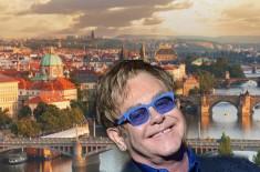 Prag - koncert Eltona Džona