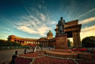 Sankt Peterburg - Moskva - Uskrs